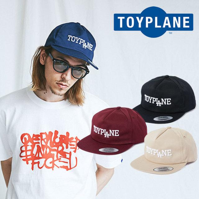 【SALE50%OFF】 TOYPLANE(トイプレーン) LOGO SNAP BACK CAP 【キャップ 帽子 セール】【2018SUMMER/FALL新作】【TP18-NCP01】