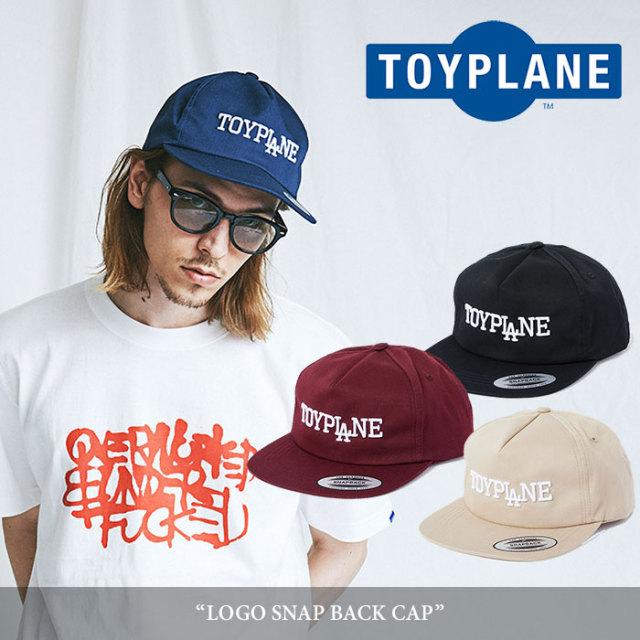 TOYPLANE(トイプレーン) LOGO SNAP BACK CAP 【2018SUMMER/FALL新作】 【TP18-NCP01】