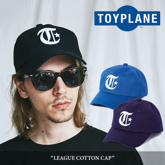 TOYPLANE(トイプレーン) LEAGUE COTTON CAP 【2018SUMMER/FALL新作】 【TP18-NCP02】