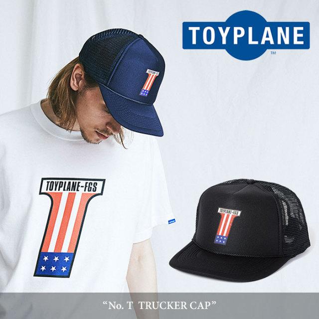 TOYPLANE(トイプレーン) T  TRUCKER CAP 【2018SUMMER/FALL先行予約】 【キャンセル不可】 【TP18-NCP03】