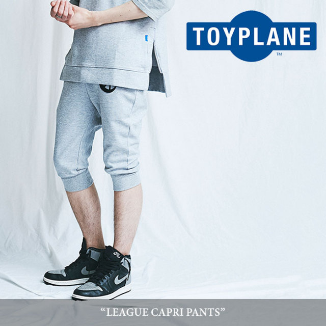 TOYPLANE(トイプレーン) LEAGUE CAPRI PANTS 【2018SUMMER/FALL先行予約】 【送料無料】【キャンセル不可】 【TP18-NPT02】