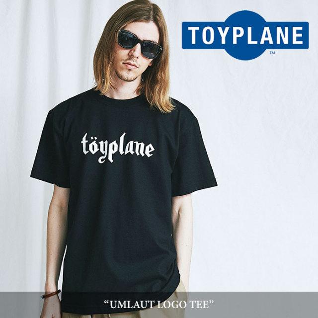 TOYPLANE(トイプレーン) UMLAUT LOGO TEE 【2018SUMMER/FALL新作】 【TOYPLANE Tシャツ】 【TP18-NTE02】