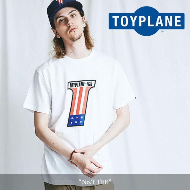 TOYPLANE(トイプレーン) No.T TEE 【2018SUMMER/FALL先行予約】 【キャンセル不可】 【TOYPLANE Tシャツ】 【TP18-NTE03】