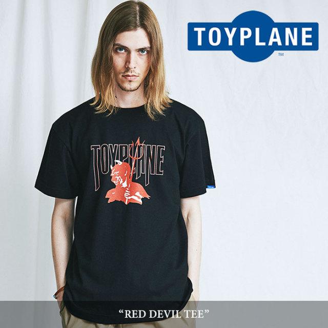 TOYPLANE(トイプレーン) RED DEVIL TEE 【2018SUMMER/FALL先行予約】 【キャンセル不可】 【TOYPLANE Tシャツ】 【TP18-NTE10】