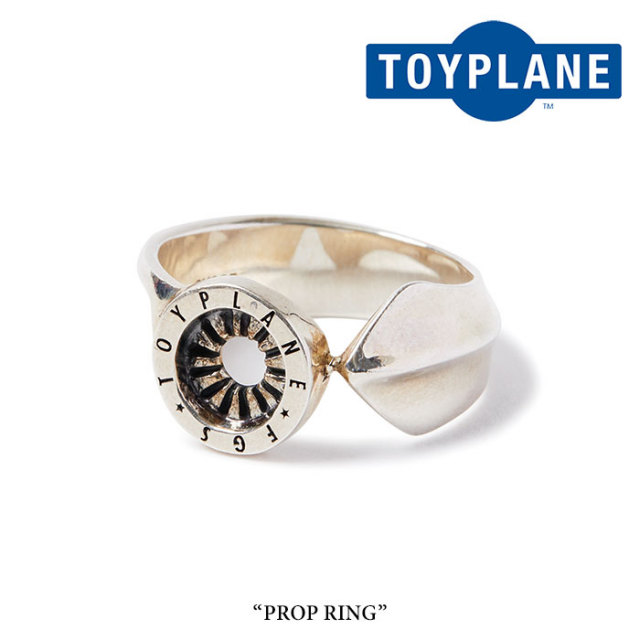 TOYPLANE(トイプレーン) PROP RING 【2018AUTUMN/WINTER先行予約】 【送料無料】【キャンセル不可】 【TOYPLANE リング】 【TPF