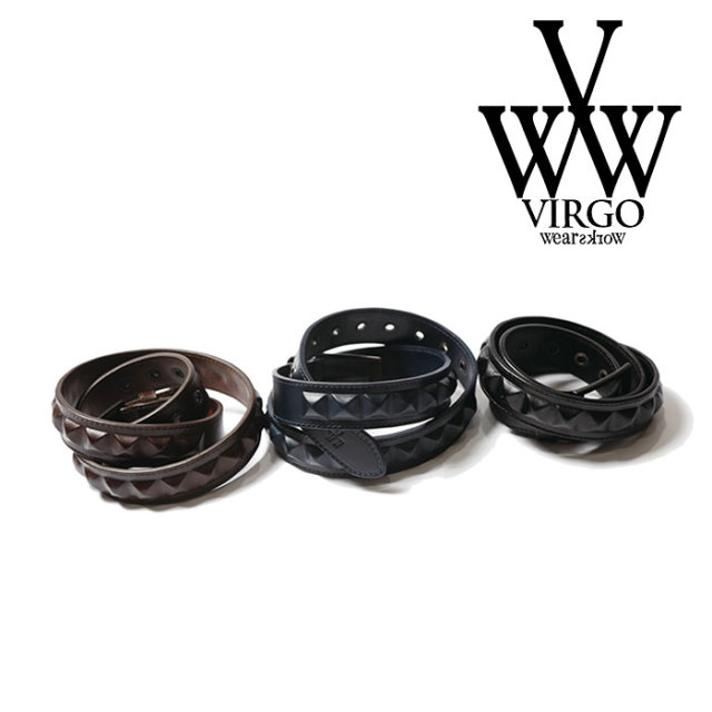 VIRGO ヴァルゴ バルゴ HIDDEN STAZ BELT 【2018FALL/WINTER新作】 【VG-GD-570】【ベルト】
