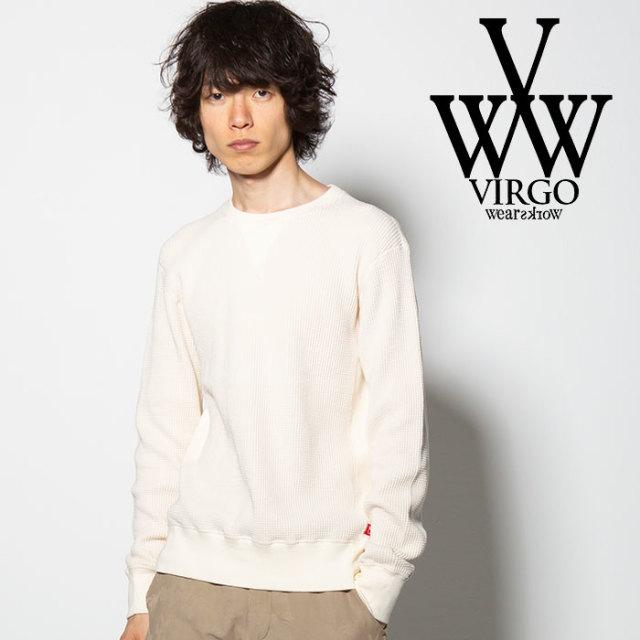 VIRGO(ヴァルゴ) SIDE PANEL WAFFLE 【2018FALL/WINTER新作】 【VG-CUT-376】【ワッフル サーマル】