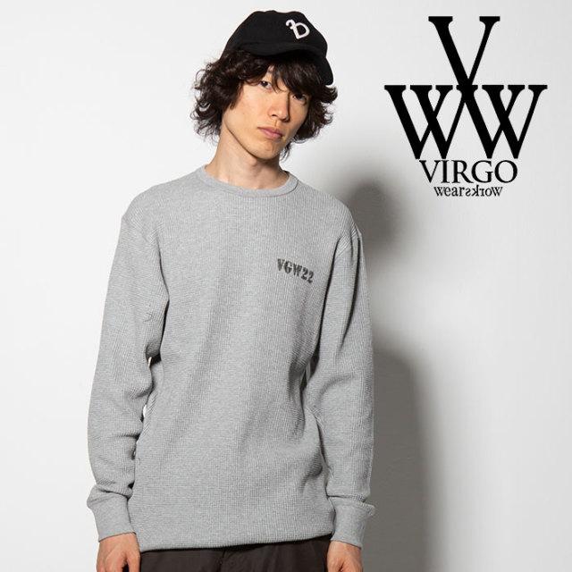 VIRGO(ヴァルゴ) VGW CREW THERMAL 【2018FALL/WINTER先行予約】 【VG-CUT-377】【キャンセル不可】