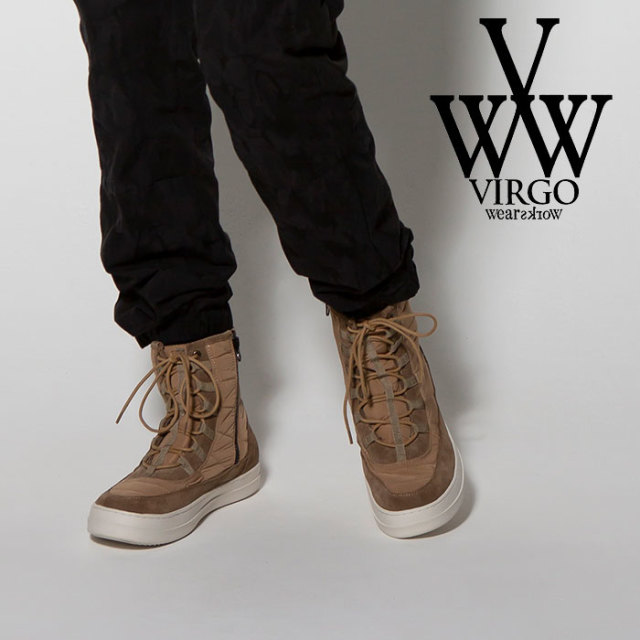 VIRGO(ヴァルゴ) MOUNTAIN MOTION SNEAKER BOOTS 【2018FALL/WINTER新作】 【VG-GD-558】