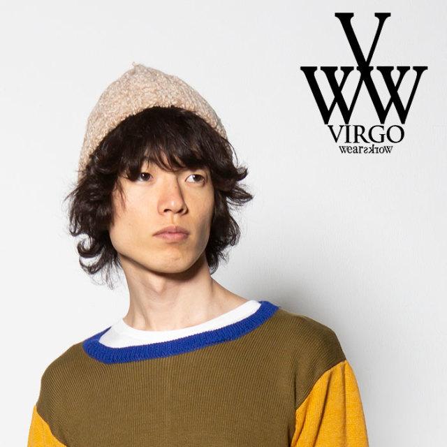 VIRGO(ヴァルゴ) COATING KNIT CAP 【2018FALL/WINTER先行予約】 【VG-GD-559】【キャンセル不可】