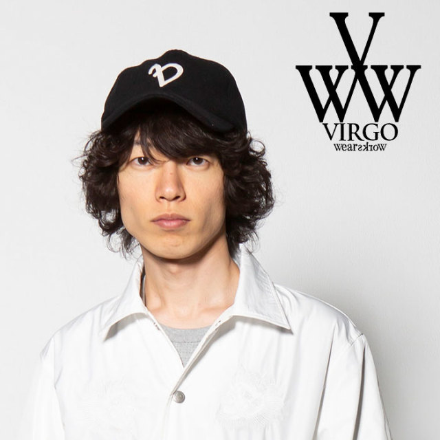 "VIRGO(ヴァルゴ) LOOSE ""V"" WOOL CAP 【2018FALL/WINTER新作】【VG-GD-562】"
