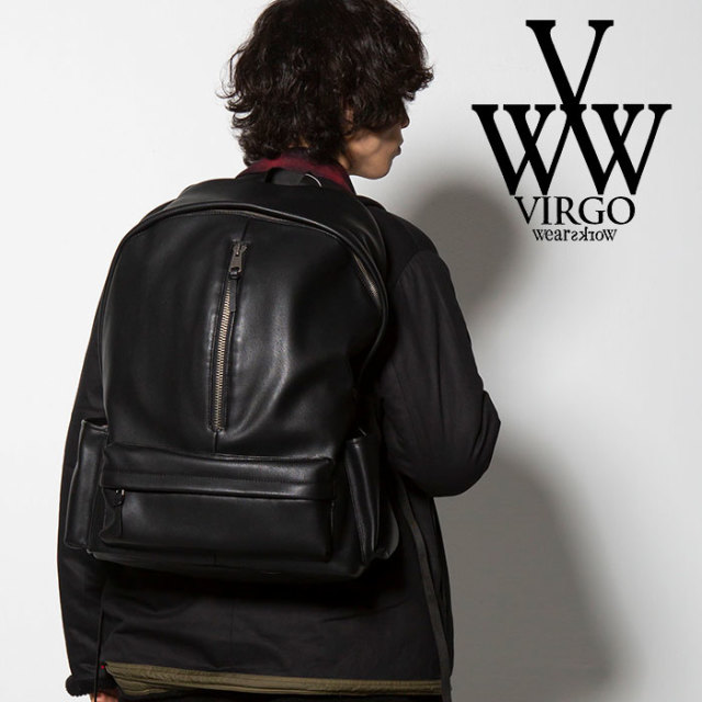 VIRGO ヴァルゴ バルゴ SOFT LEATHER BACK PACK 【2018FALL/WINTER新作】 【VG-GD-565】【バックパク リュック】