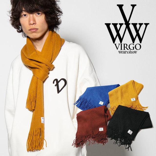 VIRGO(ヴァルゴ) SOLID  MUFFLER 【2018FALL/WINTER先行予約】 【VG-GD-568】【キャンセル不可】