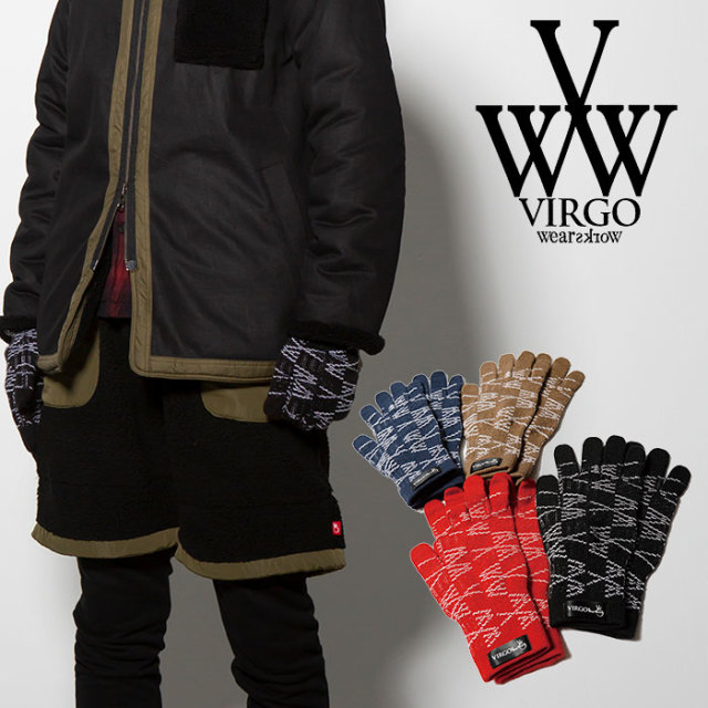 【SALE30%OFF】 VIRGO ヴァルゴ バルゴ FLOOD VG GLOVES 【2018FALL/WINTER新作】 【VG-GD-571】【グローブ 手袋】