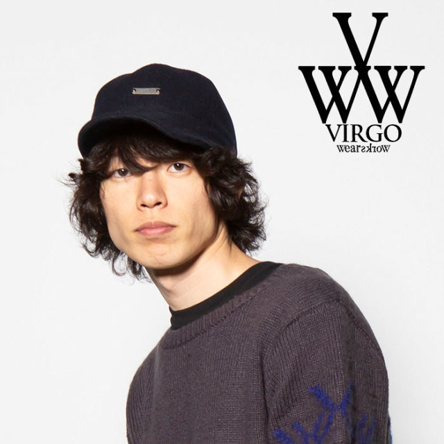 VIRGO(ヴァルゴ) WOOL MEMORY CAP 【2018FALL/WINTER先行予約】 【VG-GD-573】【キャンセル不可】