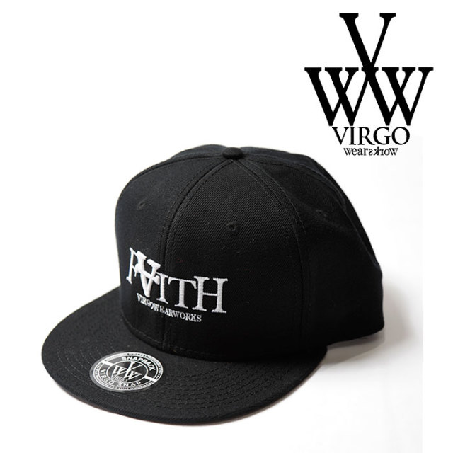 VIRGO(ヴァルゴ) FAITH CAP 【2018FALL/WINTER新作】【VG-GD-573A】