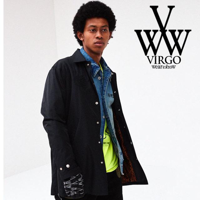 VIRGO(ヴァルゴ) HIDDEN GIRAFFE MIDDLE COACH JKT 【2018FALL/WINTER先行予約】 【VG-JKT-191】【キャンセル不可】