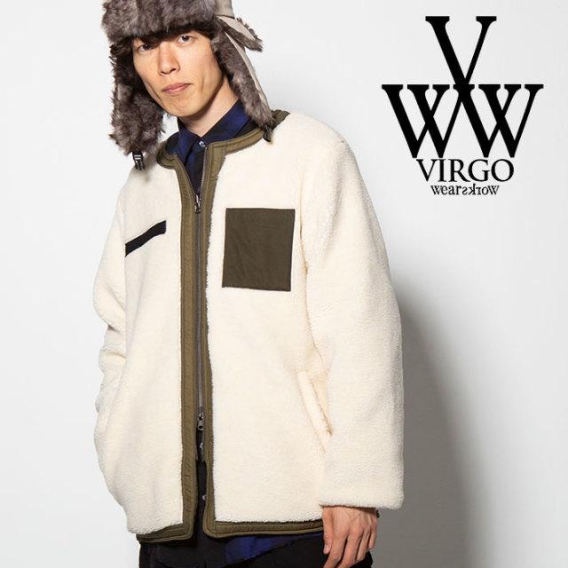 VIRGO(ヴァルゴ) W FACE BOA JKT 【2018FALL/WINTER先行予約】 【VG-JKT-192】【キャンセル不可】