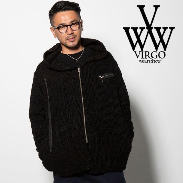 VIRGO(ヴァルゴ) W RIDERS KNIT 【2018FALL/WINTER先行予約】 【VG-KNIT-73】【キャンセル不可】