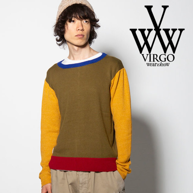 VIRGO(ヴァルゴ) OREO SWITCH KNIT 【2018FALL/WINTER先行予約】 【VG-KNIT-74】【キャンセル不可】