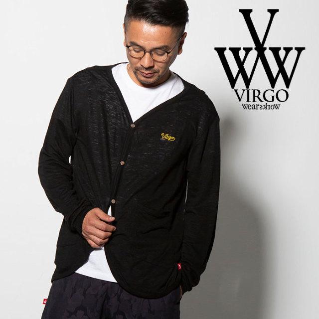 VIRGO(ヴァルゴ) VG CABLE CARDIGAN 【2018FALL/WINTER先行予約】 【VG-KNIT-76】【キャンセル不可】