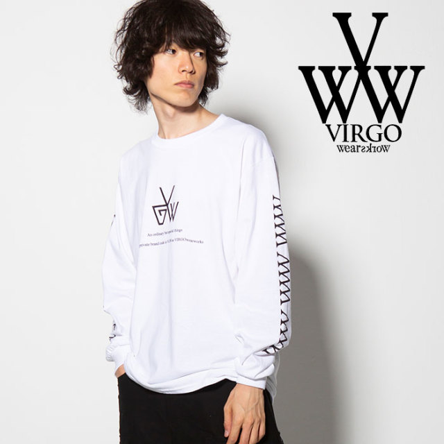VIRGO(ヴァルゴ) INSTINCTIVE BEHAVIOR L/S 【2018FALL/WINTER新作】 【VG-LSPT-55】【ロングスリーブTシャツ】