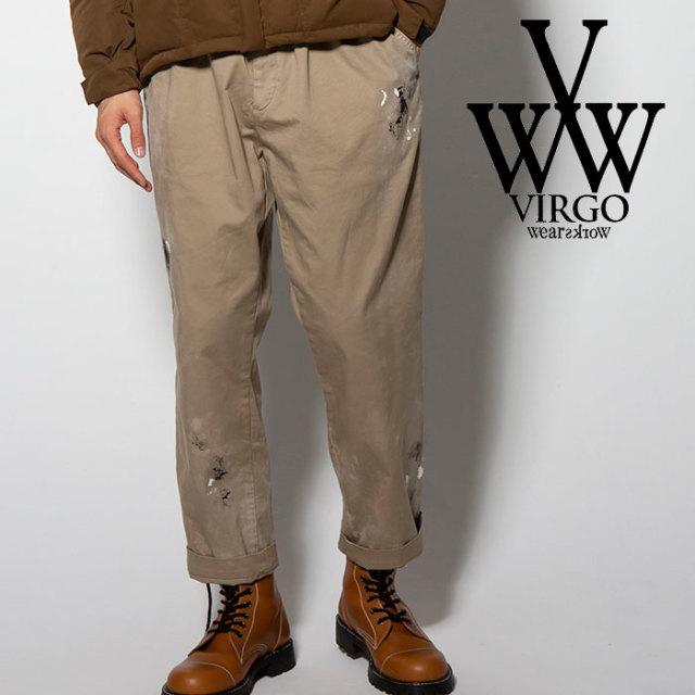 【SALE30%OFF】 VIRGO(ヴァルゴ) DIRTY CHINO PT 【2018FALL/WINTER新作】【送料無料】 【VG-PT-303】【チノパンツ】