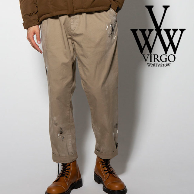 VIRGO(ヴァルゴ) DIRTY CHINO PT 【2018FALL/WINTER新作】 【VG-PT-303】【チノパンツ】