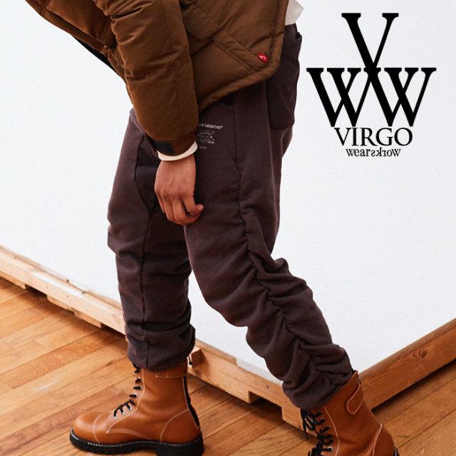 【SALE30%OFF】 VIRGO ヴァルゴ バルゴ JAGGED SWT PT 【2018FALL/WINTER新作】 【VG-PT-307】【スウェットパンツ】