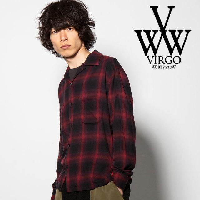 VIRGO(ヴァルゴ) BOKE SHIRTS 【2018FALL/WINTER先行予約】 【VG-SH-193】【キャンセル不可】