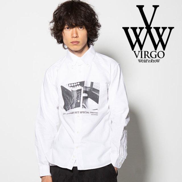 VIRGO(ヴァルゴ) CITY SHIRTS 【2018FALL/WINTER先行予約】 【VG-SH-194】【キャンセル不可】