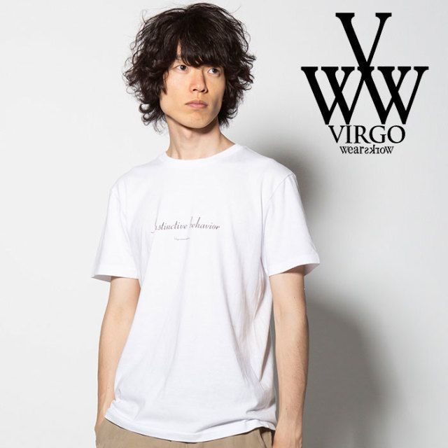 VIRGO(ヴァルゴ) INSTINCTIVE BEHAVIOR S/S 【2018FALL/WINTER先行予約】 【VG-SSPT-205】【キャンセル不可】