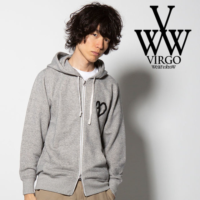 VIRGO(ヴァルゴ) FAKE EMBROIDERY PARKA 【2018FALL/WINTER先行予約】 【VG-SWT-107】【キャンセル不可】
