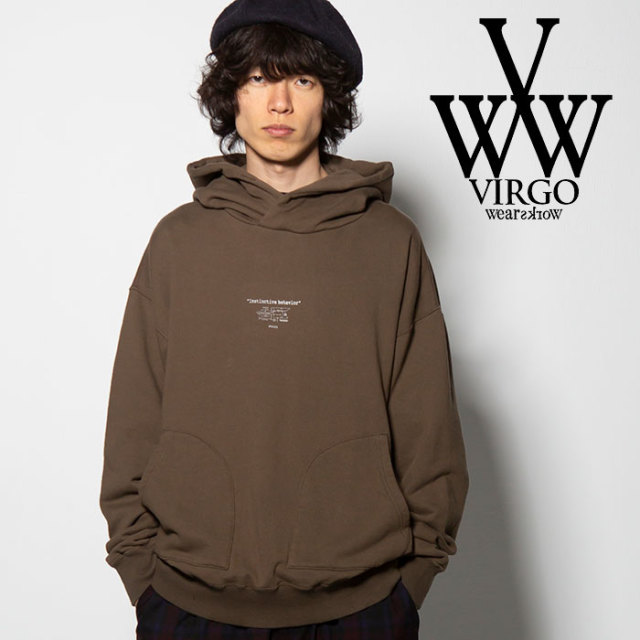 VIRGO(ヴァルゴ) LOOSE & BIG COLLAR PARKA 【2018FALL/WINTER新作】 【VG-SWT-109】【パーカー】