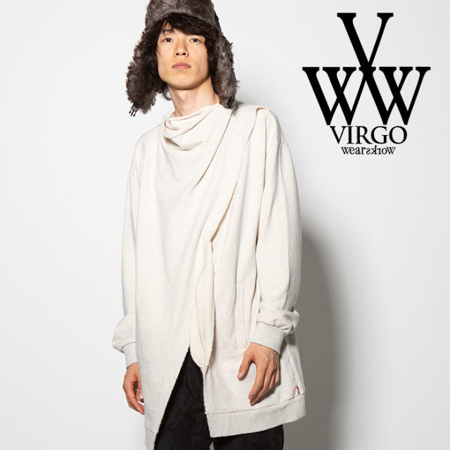 VIRGO(ヴァルゴ) RUINS SWT COAT 【2018FALL/WINTER先行予約】 【VG-SWT-112】【キャンセル不可】