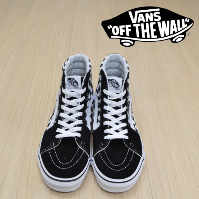 【VANS(バンズ)】 SK8-HI (VANS PATCH) BLACK/TRUE WHITE 【VANS スニーカー】【スケハイ】【VN0A38GEUPV】