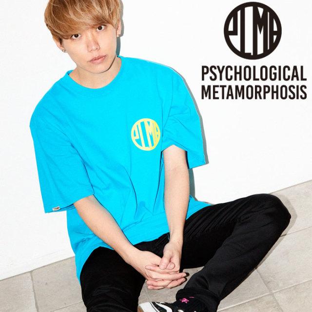 PSYCHOLOGICAL METAMORPHOSIS PLMP MARK TEE 【PSYCHOLOGICAL METAMORPHOSIS  3rd collection新作】【PL18-0104】 【image model