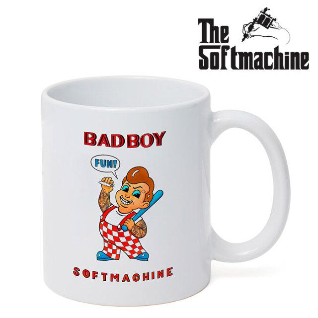 SOFTMACHINE(ソフトマシーン) BAD BOY MUG 【マグカップ タトゥー】【2020AUTUMN&WINTER新作】