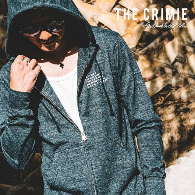 CRIMIE(クライミー) CS CLASSIC ZIP PARKA 【2019SPRING/SUMMER先行予約】 【キャンセル不可】【C1K1-CS04】【パーカー】