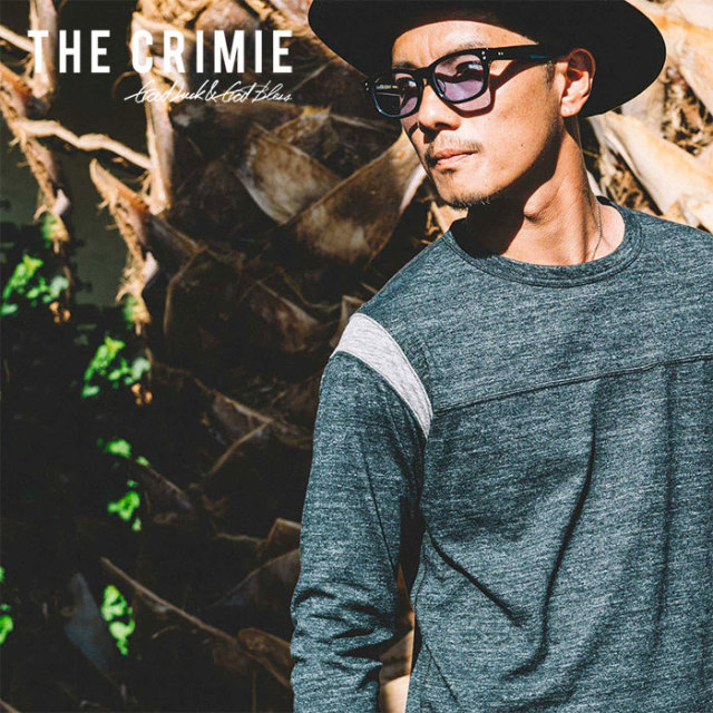 CRIMIE(クライミー) FOOTBALL T-SHIRT 【2019SPRING/SUMMER先行予約】 【キャンセル不可】【C1K1-CS05】【Tシャツ】