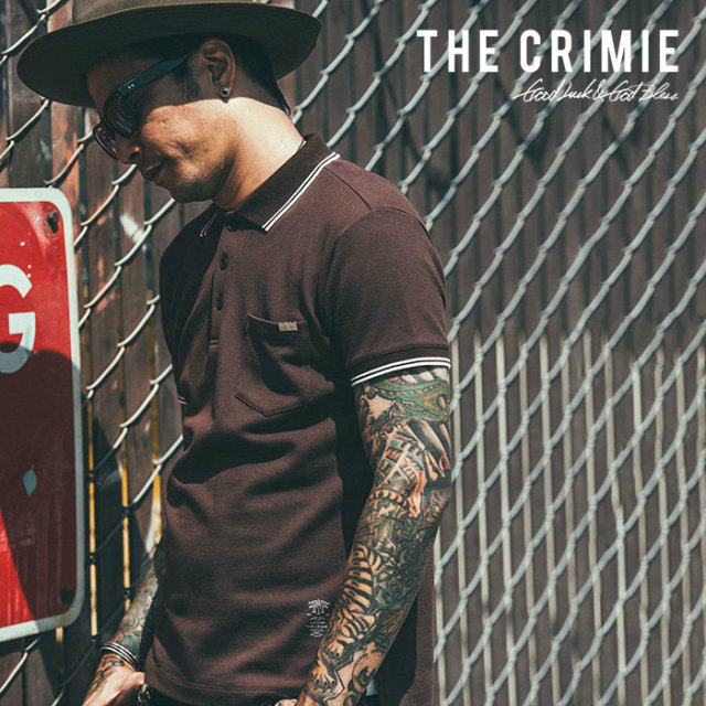 CRIMIE(クライミー) POLO SHIRT 【2019SPRING/SUMMER先行予約】 【キャンセル不可】【C1K1-CS06】【ポロシャツ】