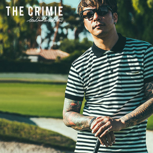 CRIMIE(クライミー) BORDER POLO SHIRT 【2019SPRING/SUMMER先行予約】 【キャンセル不可】【C1K1-CS07】【ボーダー ポロシャツ】