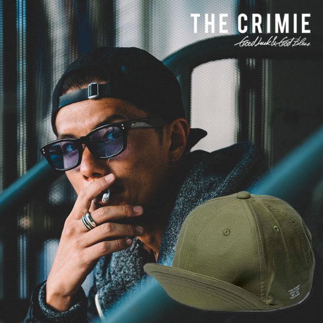 CRIMIE(クライミー) JOE MILITARY CAP 【2019SPRING/SUMMER先行予約】 【キャンセル不可】【C1K1-CXCP-AM01】【ミリタリー キャッ