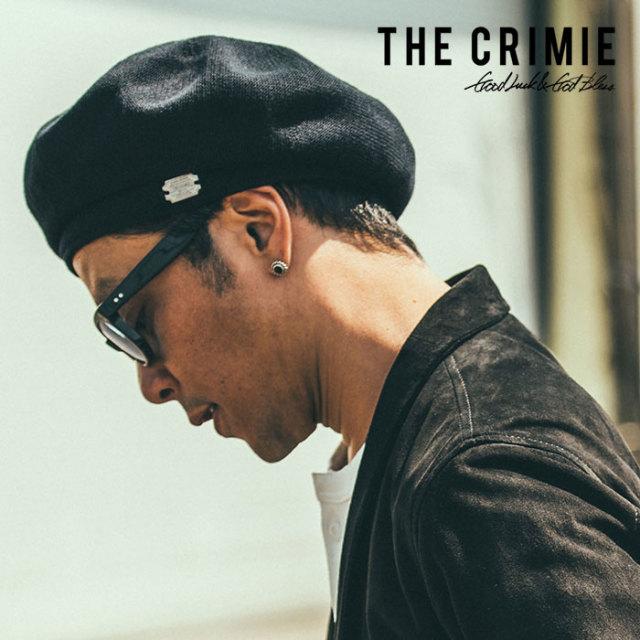 CRIMIE(クライミー) THE CR BERET 【先行予約】【キャンセル不可】 【C1K1-CXCP-BR01】【ベレー帽】