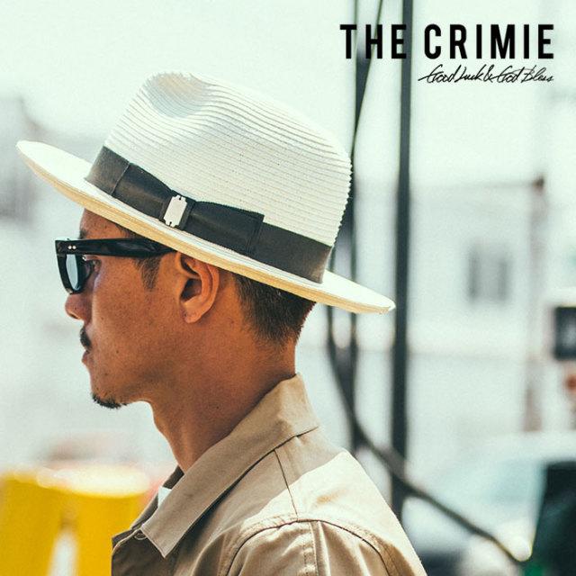 CRIMIE(クライミー) STROW HAT 【2019SPRING/SUMMER新作】【送料無料】 【C1K1-CXHT-SH01】【ストローハット】 【おしゃれ アメ