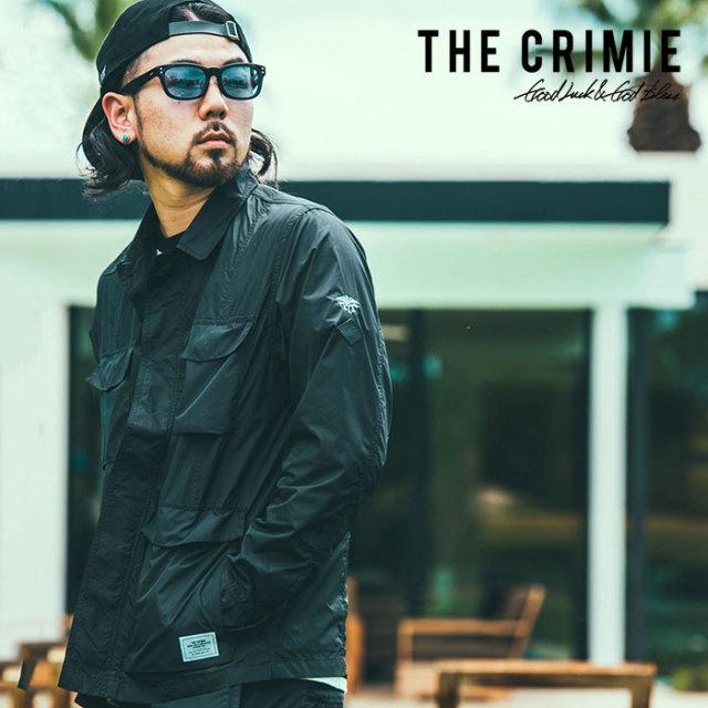 CRIMIE(クライミー) WATER RESISTANT JUNGLE SHIRT 【2019SPRING/SUMMER先行予約】【キャンセル不可】 【C1K1-JK03】【シャツジャ