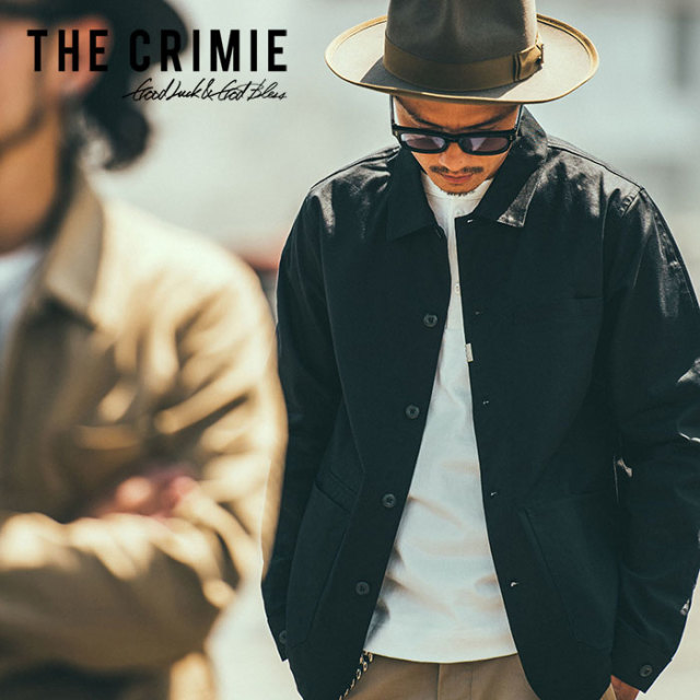 CRIMIE(クライミー) STRETCH CHINO JACKET 【2019SPRING/SUMMER新作】 【C1K1-JK06】【チノジャケット】