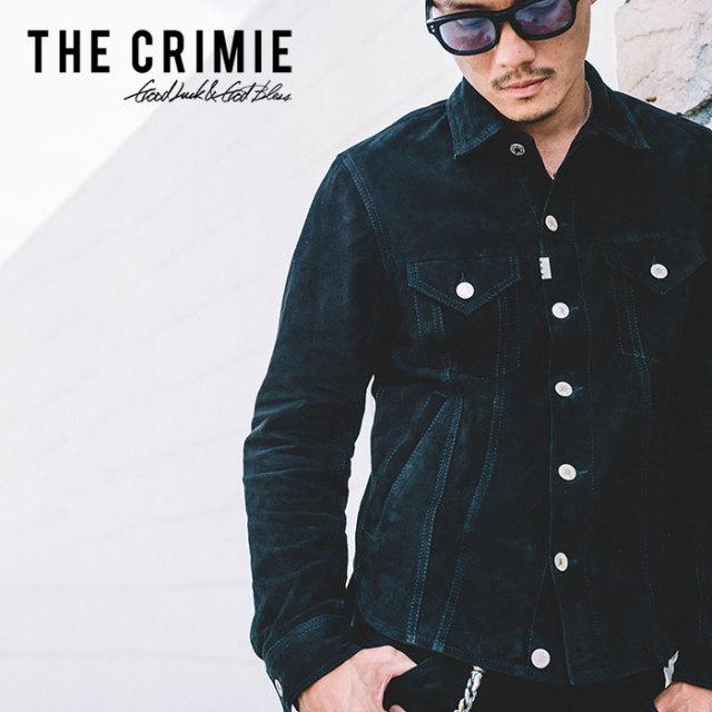 CRIMIE(クライミー) SUEDE LEATHER JACKET 【2019SPRING/SUMMER先行予約】【キャンセル不可】 【C1K1-JK11】【レザー ジャケット