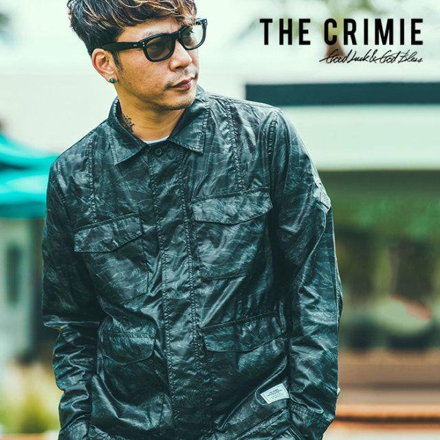CRIMIE(クライミー) TIGER CAMO JUNGLE SHIRT 【2019SPRING/SUMMER先行予約】【キャンセル不可】 【C1K1-JK14】【シャツジャケッ