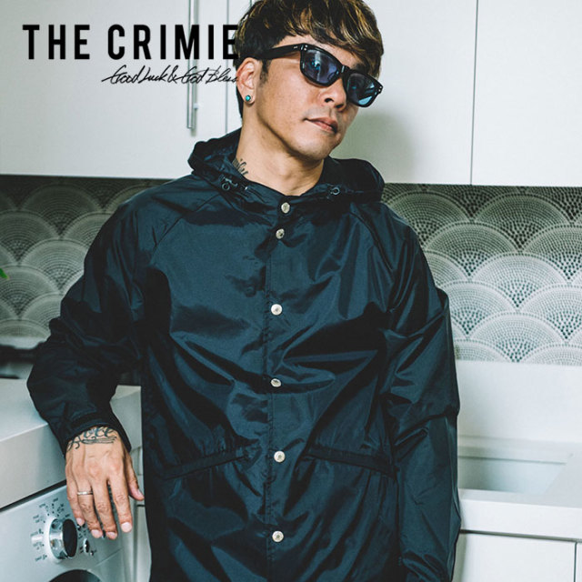 【SALE30%OFF】 CRIMIE(クライミー) HOOD COACHES JACKET 【2019SPRING/SUMMER新作】【送料無料】 【C1K1-JK20】【コーチジャケ